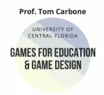 "Workshop ""Games for education &  Game design"" – Prof. Tom Carbone"